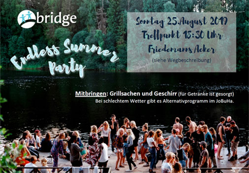 my bridge ::: endless summer party